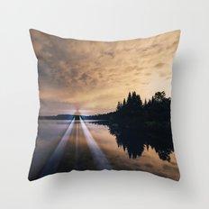 Projecting Light Throw Pillow
