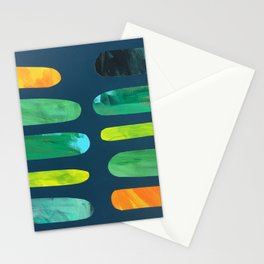 Green Pegs Stationery Cards
