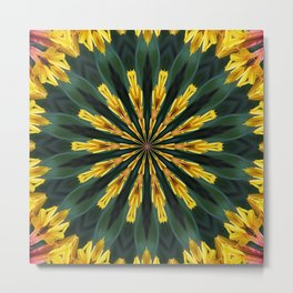 A Fanfare of Gaillardia Flowers Metal Print