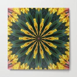 A Fanfare of Gaillardia Flowers Metal Print