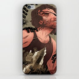 Escape From New York Poster iPhone Skin