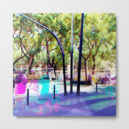 Set your mind at ease as you muster all a fluster. Metal Print