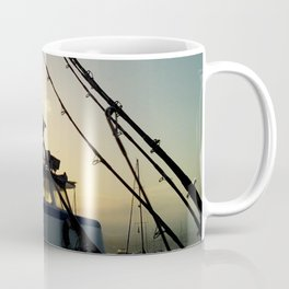 Fishing At Dawn Coffee Mug