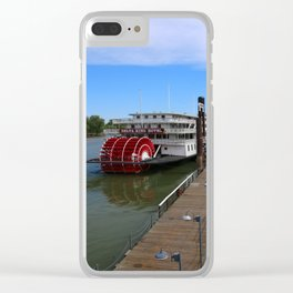 Delta King  Riverboat Clear iPhone Case