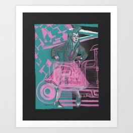 motorjig Art Print