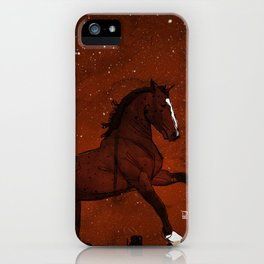 Brown Horse iPhone Case