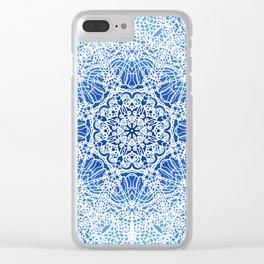 Mehndi Ethnic Style G413 Clear iPhone Case
