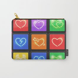 Rubik's Cube with Love Puzzle Carry-All Pouch