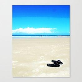 Flip Flops Canvas Print