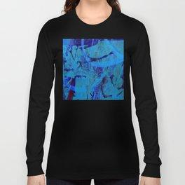 Blue heat Long Sleeve T-shirt