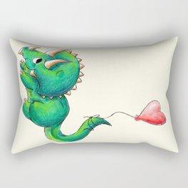 Balloon for Baby (Girl) Rectangular Pillow