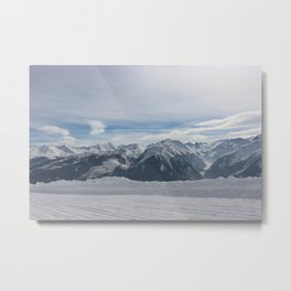 Wunderfull Snow Mountain(s) 3 Metal Print