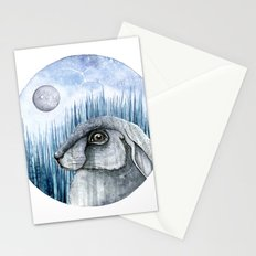 Rabbit  Stationery Cards