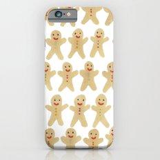 Gingerbread people iPhone 6s Slim Case