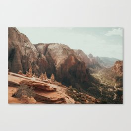 When We Remembered Zion Canvas Print