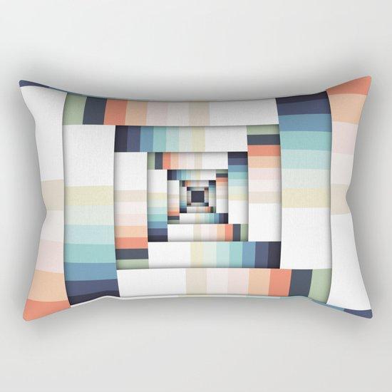 Boxes of Colors Rectangular Pillow