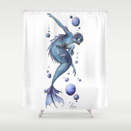 Mermaid 13 Shower Curtain