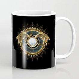 Mechanical Dragon Wings with a Lens ( Steampunk ) Coffee Mug