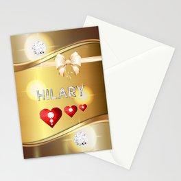 Hilary 01 Stationery Cards