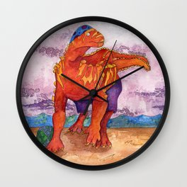 Beach Ball Dinosaur - Barney Wall Clock