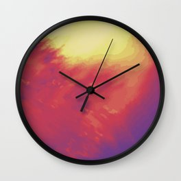 Psychedelica Chroma IV Wall Clock