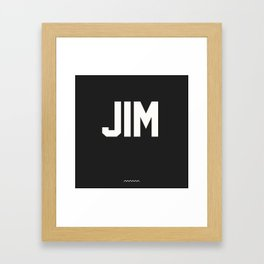 DDAYS JIM Framed Art Print