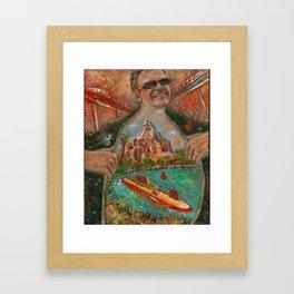 Victor's Mountain Framed Art Print
