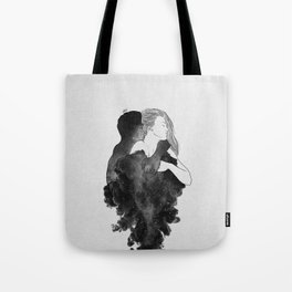 You are my peaceful heaven b&w. Tote Bag