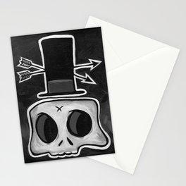 Voodoo Skull Stationery Cards