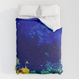 Spectraness of Outerspace Comforters