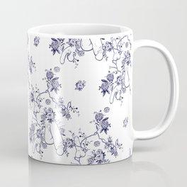 Penis Pattern Kaffeebecher