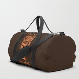 Tiki Hotel Logo Duffle Bag