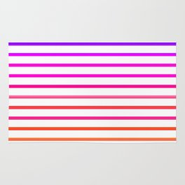 Warm lines Rug