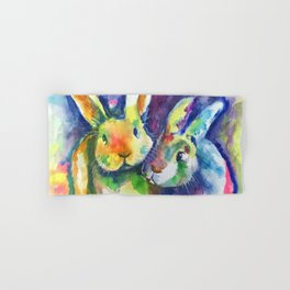 Bunny Pals Hand & Bath Towel