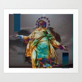 Virgen II Art Print