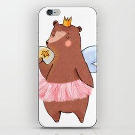 Bear Tooth Fairy iPhone Skin