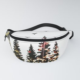 Half Moon forest Fanny Pack