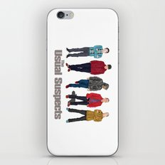 The Usual Suspect casual fashion style iPhone & iPod Skin