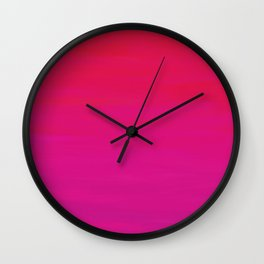 Rose at Dawn Wall Clock