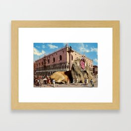 The Lion of San Marco Framed Art Print