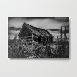 The Old Schoolhouse Metal Print