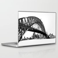sydney Laptop & iPad Skins featuring sydney by Jette Geis
