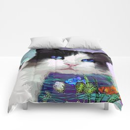 Dreaming Of Fish Comforters