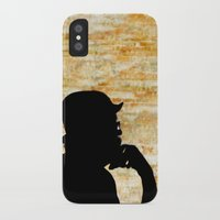 bill iPhone & iPod Cases featuring Bill  by virginia odien
