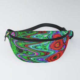 Groovy Trees Fanny Pack
