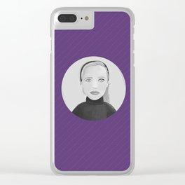 Persona halfs Clear iPhone Case