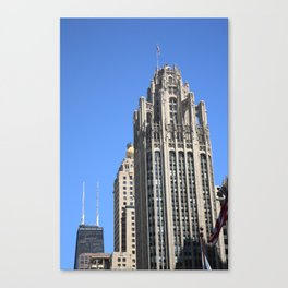 Chicago Skyscrapers 2010 Canvas Print