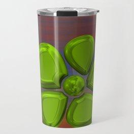 FLOWER 2 GREEN Travel Mug