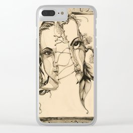 Bipolar by Kate Morgan Clear iPhone Case