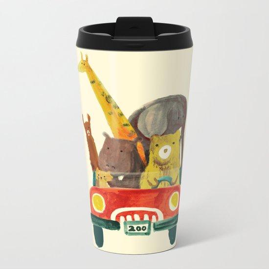 Visit the zoo Metal Travel Mug